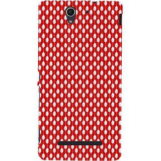 ifasho Animated Pattern design in pearl  Back Case Cover for Sony Xperia C3 Dual