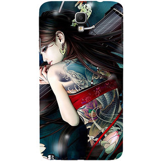 ifasho tatoo girl Back Case Cover for Samsung Galaxy Note3 Neo