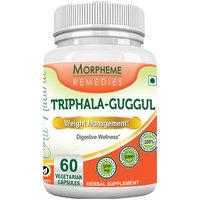 Morpheme Triphala Guggul Supplements 500mg Extract 60 Veg Caps