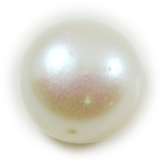 6 Ratti 5.5 Carat Natural Pearl Moti Round Shape Loose Gemstone For Astrological Purpose
