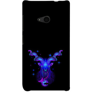 ifasho zodiac sign aries Back Case Cover for Nokia Lumia 535