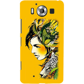 ifasho Jungle girl Back Case Cover for Nokia Lumia 950