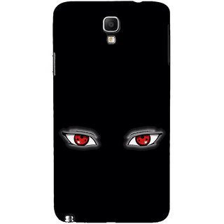 ifasho Cartoon Eyes Back Case Cover for Samsung Galaxy Note3 Neo