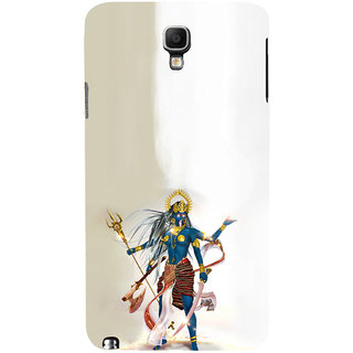 ifasho goddess  maa Kali Ugra tara Back Case Cover for Samsung Galaxy Note3 Neo