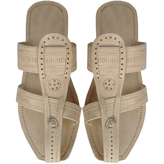 Royal Look Natural Handcrafted Kolhapuri Chappal for Men