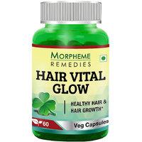 Morpheme Hair Vital Glow 60 Veg Caps - For Hair Health