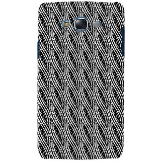 ifasho Design lines pattern Back Case Cover for Samsung Galaxy J7 (2016)