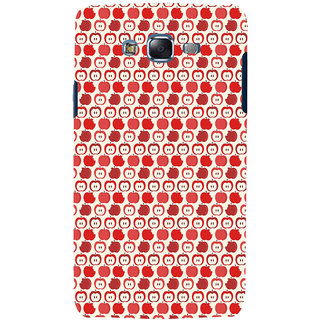 ifasho Animated Pattern design many small apple Back Case Cover for Samsung Galaxy J5