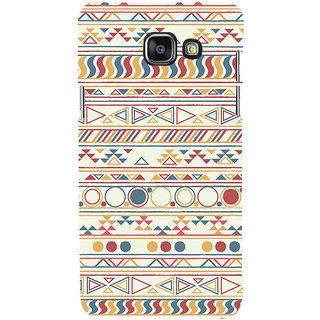 ifasho Animated Pattern colrful 3Dibal design Back Case Cover for Samsung Galaxy A5 A510 (2016 Edition)