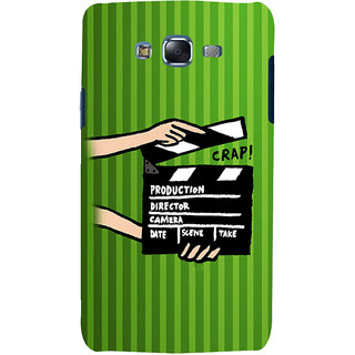 ifasho movie shoots action Back Case Cover for Samsung Galaxy J7