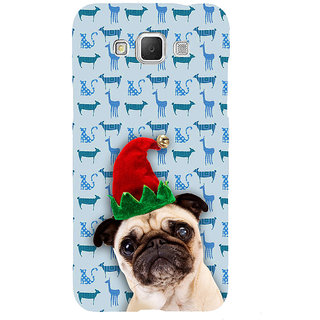 ifasho Dog with red hat Back Case Cover for Samsung Galaxy Grand3
