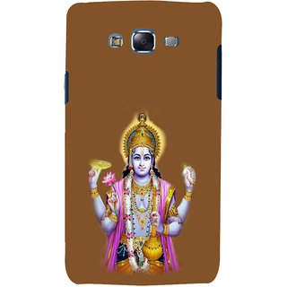 ifasho Lord Vishnu Back Case Cover for Samsung Galaxy J5