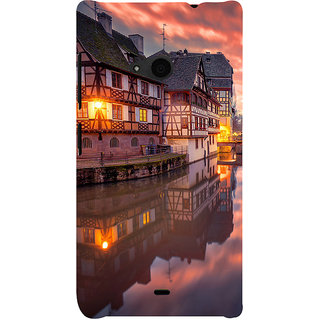 ifasho Venice City Back Case Cover for Nokia Lumia 535
