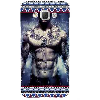 ifasho tatoo man six pack Back Case Cover for Samsung Galaxy Grand3