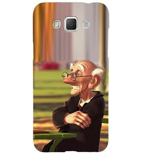 ifasho Old man playing chess animated design Back Case Cover for Samsung Galaxy Grand3