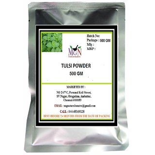 TULSI POWDER POWDER 500 GM (FACE PACK -ANTIAGING-FAIRNESS-SKIN CARE)
