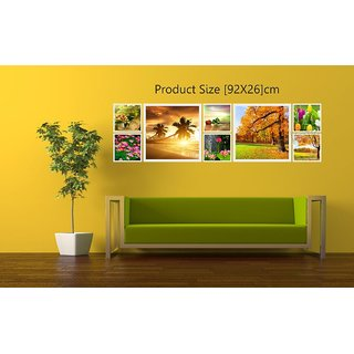 Creatick Studio Nature Eight Pieces Wall Poster