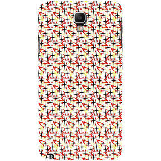 ifasho Animated Pattern colourful littel stars Back Case Cover for Samsung Galaxy Note3 Neo