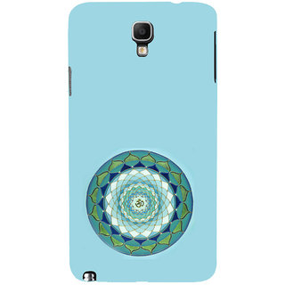 ifasho Modern Art Om design pattern in kundli Back Case Cover for Samsung Galaxy Note3 Neo