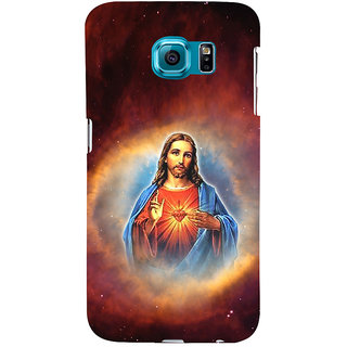 ifasho Jesus christ  Back Case Cover for Samsung Galaxy S6 Edge Plus
