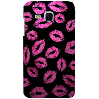 ifasho lovely Lips Back Case Cover for Samsung Galaxy J3