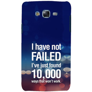 ifasho quotes on success Back Case Cover for Samsung Galaxy J5