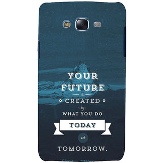 ifasho Good Quote On Future Back Case Cover for Samsung Galaxy J5