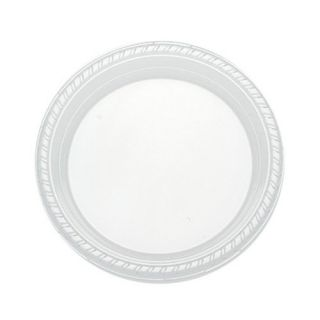 SOLO PST75-0099 Ultra Clear Medium-Weight Plastic Dinnerware 7.2