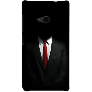 ifasho Gentle man Back Case Cover for Nokia Lumia 535