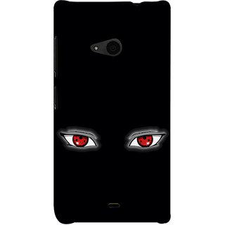 ifasho Cartoon Eyes Back Case Cover for Nokia Lumia 535