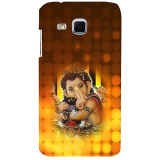 ifasho Lord Ganesha with linga Back Case Cover for Samsung Galaxy J3