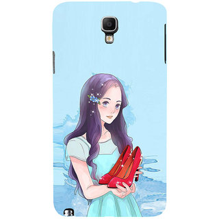 ifasho Girl with sandle in hand Back Case Cover for Samsung Galaxy Note3 Neo