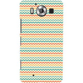 ifasho Animated Pattern of Chevron Arrows  Back Case Cover for Nokia Lumia 950