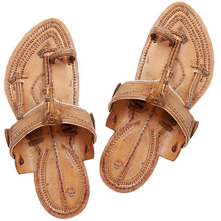 Handmade Leather Sandal- Typical kolhapuri Chappal