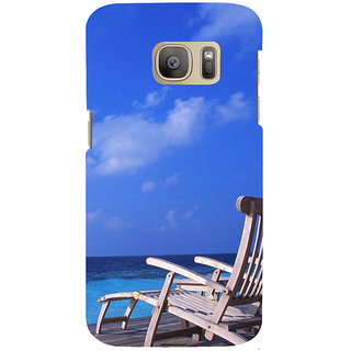 ifasho Beach  Back Case Cover for Samsung Galaxy S7 Edge