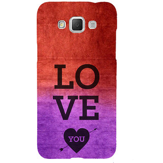 ifasho love you quotes Back Case Cover for Samsung Galaxy Grand3