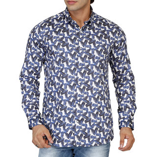 Lawman PG3 Multicolor Button Down Full sleeves Casual Shirt For Men