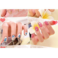 Designer Nail Stickers 3D Nail Art Water Transfer Decal Sticker Decotations Glitter Manicure Diy Tools For Charms Nails-10 Sheets