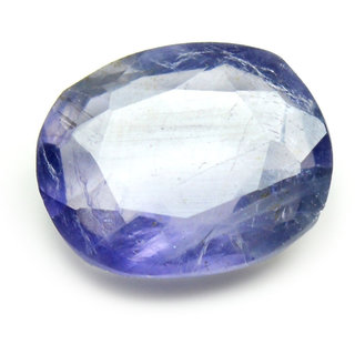 5 Ratti 4.59  Carat Natural Blue Iolite Neeli Beautiful Oval Shape Loose Gemstone For Daily Purpose