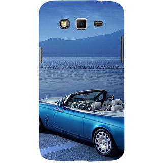ifasho Long Car in beach Back Case Cover for Samsung Galaxy Grand