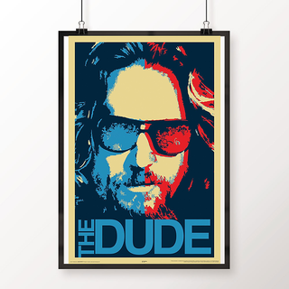 Desi Swag Multicolor Paper Posters The Dude