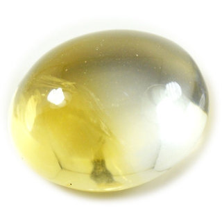 4.75 Ratti 4.36 Carat Natural Beautiful Cabochon Citrine Golden Sunella Loose Gemstone For Astrological Purpose