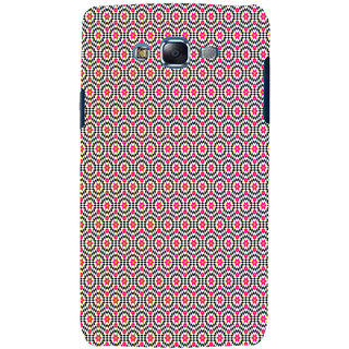 ifasho Animated Pattern design many small flowers  Back Case Cover for Samsung Galaxy J7 (2016)