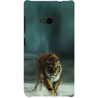 ifasho Leopard resting Back Case Cover for Nokia Lumia 535