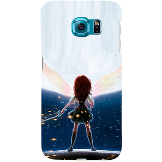 ifasho Girl with blade animated Back Case Cover for Samsung Galaxy S6 Edge Plus