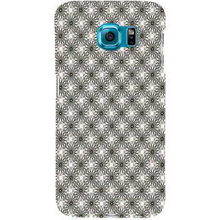 ifasho Animated Pattern Littel Flowers Back Case Cover for Samsung Galaxy S6 Edge Plus