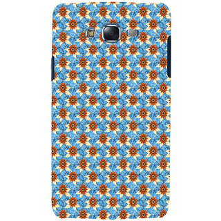 ifasho Modern Art Design animated cloth Pattern of sunflower Back Case Cover for Samsung Galaxy J7 (2016)