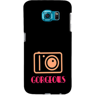 ifasho Being Yourself gorgeous Back Case Cover for Samsung Galaxy S6