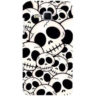 ifasho Modern  Design skeleton Pattern Back Case Cover for Samsung Galaxy J3