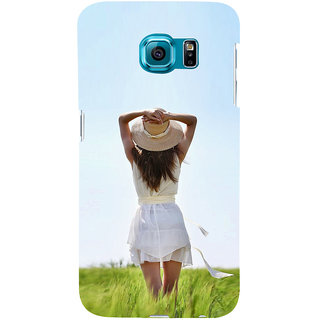 ifasho Girl waiting Back Case Cover for Samsung Galaxy S6